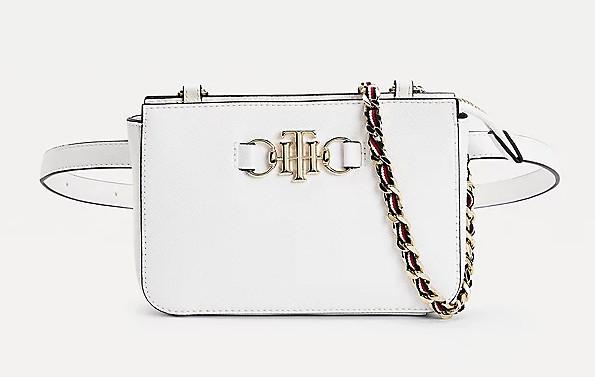 TH club belt bag bright white