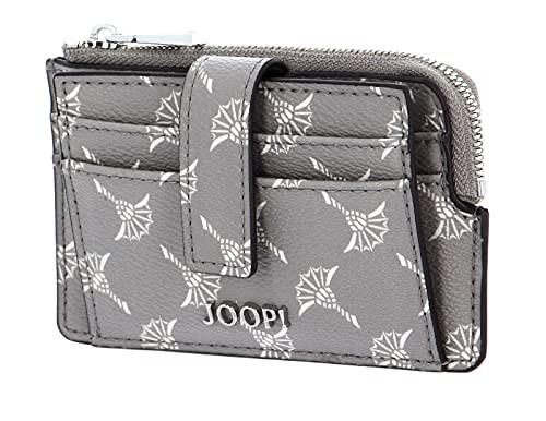 JOOP! Cortina Gini Kartenetui mit Münzfach Opal Gray