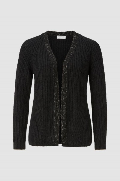 Rich & Royal Cardigan mit Lurex Details