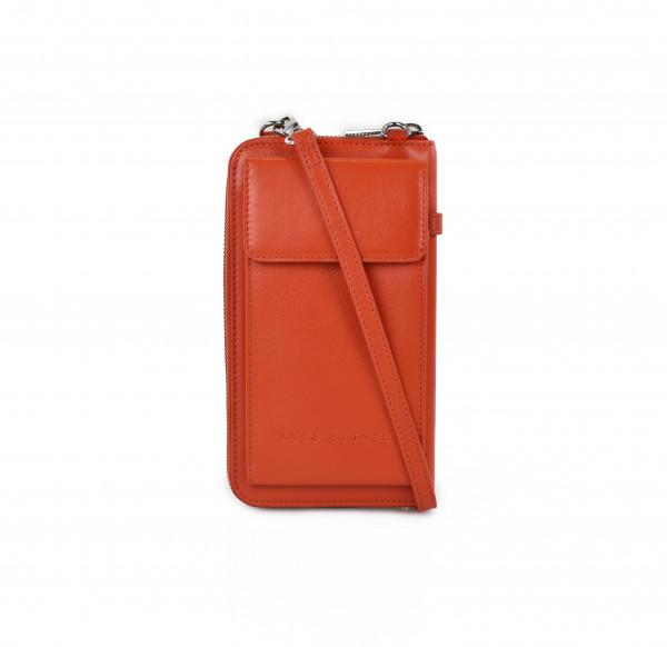 City Wallet A winter orange