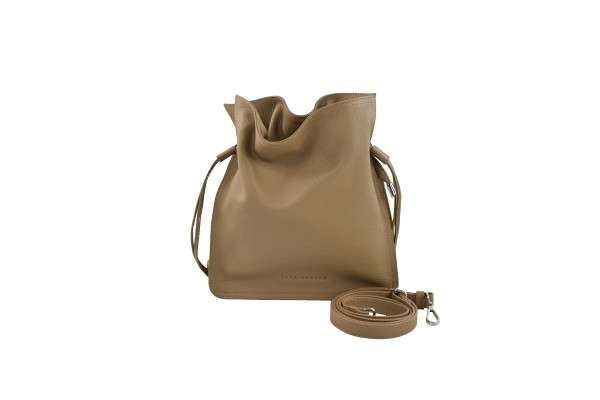Banu bucket bag taupe